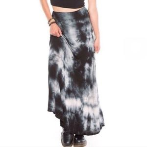 Brandy Melville Boho Maxi Skirt with Side Slit